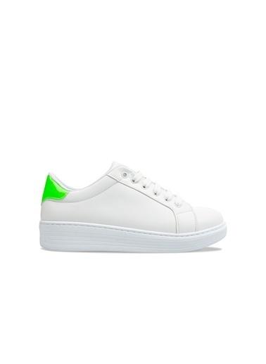 Benetton Bn30226 Kadın Spor Ayakkabı Yeşil